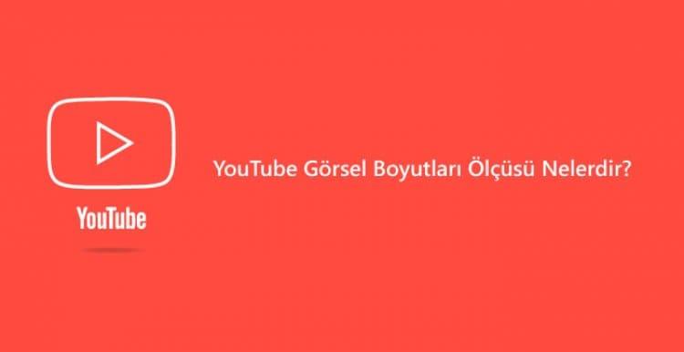 YouTube Profil Resmi Boyutu