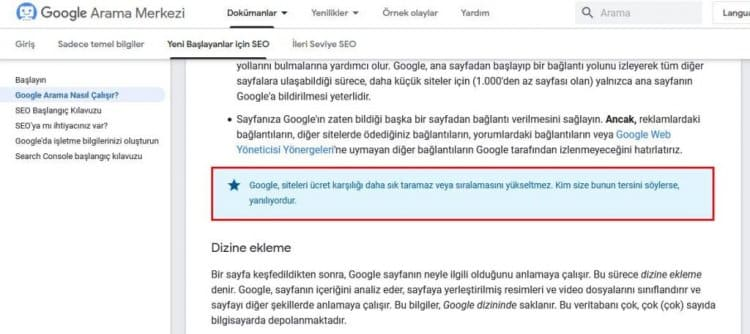 Google'da Tanıdık Var, Faydası Olur mu?