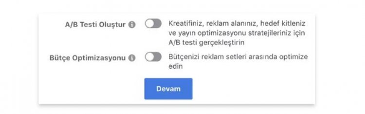 instagram A/B Test