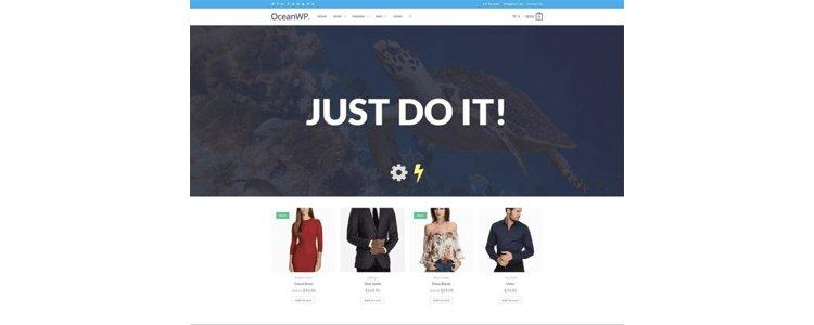 OceanWP teması