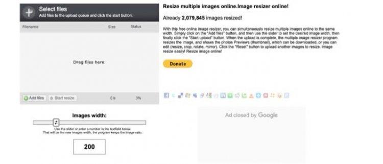 Online Image Resize