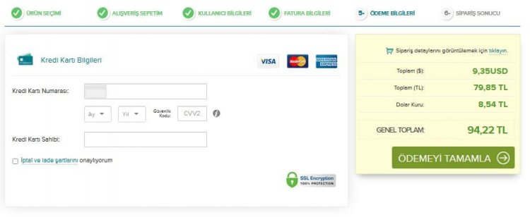 ihs kredi kartı ile ödeme